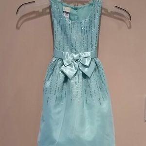 Holiday Editions Sparkly Sleeveless Dress EUC 6/6x